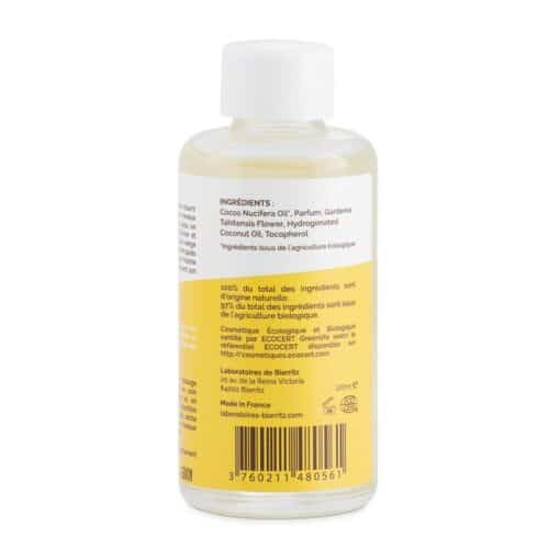 Océane Biologische Monoï Oil Vanille 100ml Rear