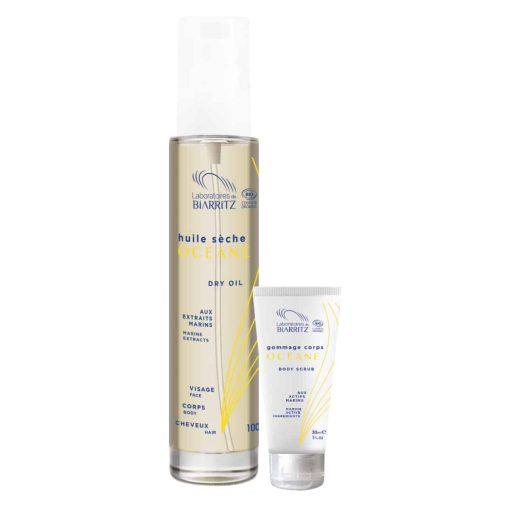 Océane - Biologische Droge Oil + Body Scrub Promo Pack